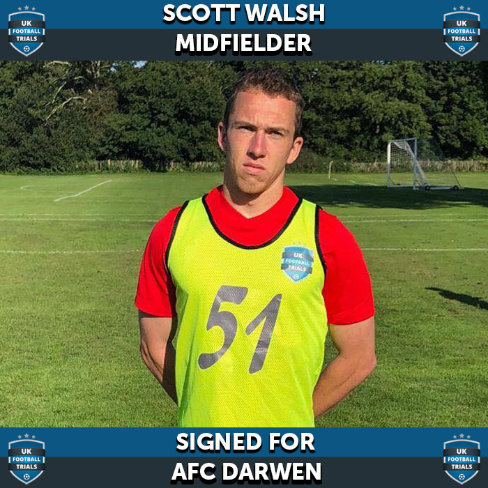 Californian Scott Walsh Signs For UK Semi Pro Team